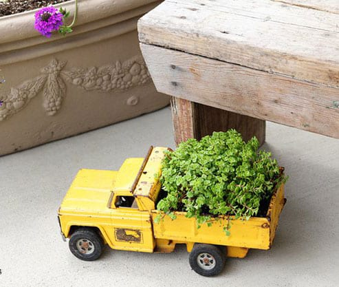 Εύκολες χειροποίητες δημιουργίες για τον κήπο!