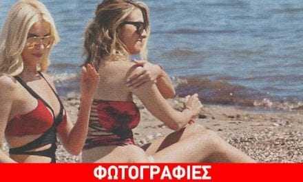 Η πρώτη εξόρμηση της Kατερίνας Καινούργιου στην παραλία- Εντυπωσίασε με τη σιλουέτα της