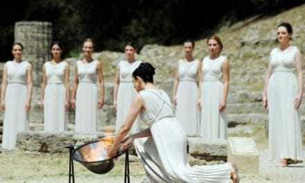 Με επιτυχία έγινε η τελική πρόβα για την τελετή Αφής της Ολυμπιακής Φλόγας