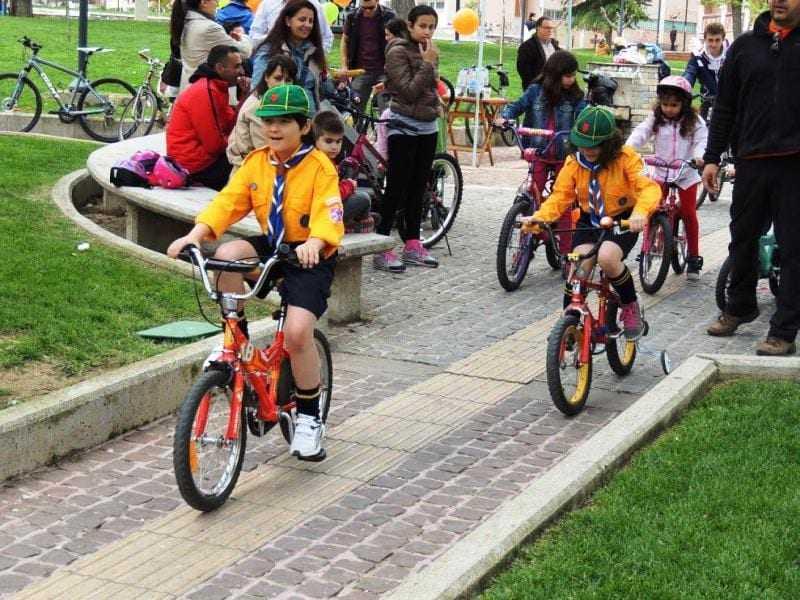 Σάββατο 9 Απριλίου 2016 στις 11:00 το πρωί Ποδηλατικά Παιχνίδια στην Κεντρική Πλατεία Ξάνθης