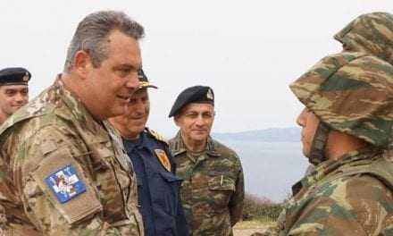 Εντυπωσιακές εικόνες από την άσκηση ετοιμότητας και αεράμυνας, παρουσία του υπουργού Εθνικής Άμυνας