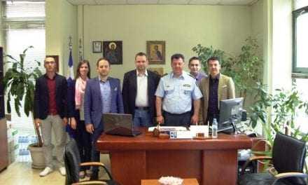 « Επίσκεψη  του Δ.Σ. της Ένωσης Αξιωματικών Α.Μ.Θ.  στον Διευθυντή της Διεύθυνσης Αστυνομίας Ροδόπης»