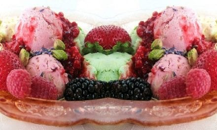 Παγωτό φρούτα του δάσους
