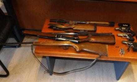 Συνελήφθησαν 10 πολίτες  κατηγορούμενοι για παραβάσεις του νόμου περί όπλων