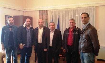 Επίσκεψη ΝΟΔΕ στον Δήμαρχο Ξάνθης