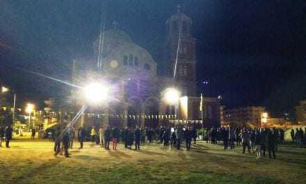 ΦΩΤΟΡΕΠΟΡΤΑΖ: Ανάσταση στον Ιερό Ναό Αγίων Ραφαήλ, Νικολάου και Ειρήνης στην Ξάνθη