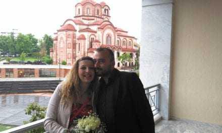 Παντρεύτηκαν ο Βασίλης και η Εύη