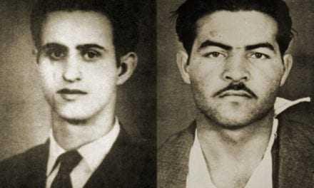 Σαν σήμερα, 10 Μαΐου 1956, θανατώθηκαν δι΄ απαγχονισμού   οι δύο Κύπριοι Ήρωες, Ανδρέας Δημητρίου και Μιχαλάκης Καραολής.
