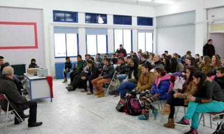 Το Γυμνάσιο του Ν. Ολβίου στην Μαθητιάδα των Σερρών. Ευχαριστίες