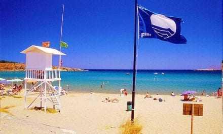 Γαλάζια σημαία για το 2016 για την παραλία των Μαγγάνων και πρώτη φορά και για την παραλία Ερασμίου του Δήμου Τοπείρου