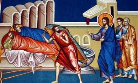 ΤΟ ΜΗΝΥΜΑ ΤΗΣ ΚΥΡΙΑΚΗΣ  «ΟΤΑΝ ΠΡΟΣΤΑΖΕΙ Ο ΧΡΙΣΤΟΣ»