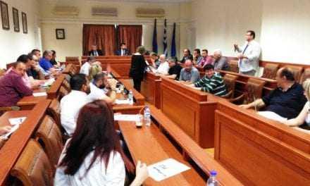 Συνεδρίαση Δημοτικού Συμβουλίου. Παραλίγο  να μετατραπεί σε ρινγκ. (ΒΙΝΤΕΟ)