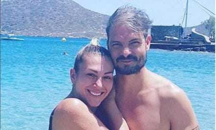 Άγγελος Χαριστέας: Διακοπές στην Κρήτη με την γυναίκα του!