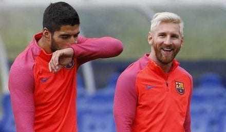 """Σε """"συγκρουόμενα"""" μεταμορφώθηκαν οι παίκτες της Μπάρτσα στην τελευταία προπόνηση"""