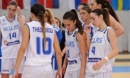 Μπάσκετ: Υποβιβάστηκε η Εθνική Νέων Γυναικών