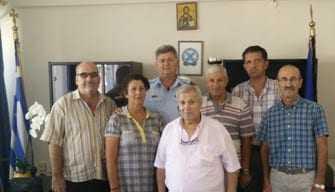 «Εθιμοτυπική Επίσκεψη Ένωσης Απόστρατων Αστυνομικών Ξάνθης»