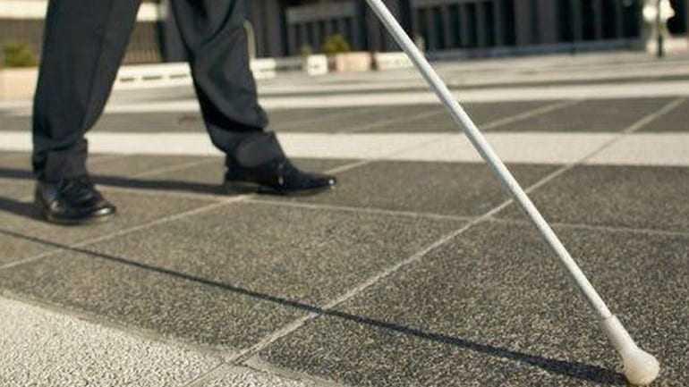 Διαμαρτυρία της Ένωσης Τυφλών Θράκης  για τις περικοπές συντάξεων του Ο.Γ.Α.