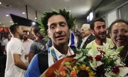 Ρίο 2016: Θριαμβευτική υποδοχή για τους Μάντη – Καγιαλή