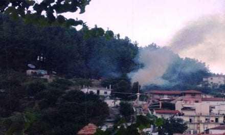 Μικρής έντασης φωτιά ξέσπασε στο Σαμακώβ. Άμεση  η επέμβαση της Πυροσβεστικής
