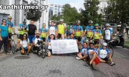 Τα εκπαιδευτήρια  Χατζηστεφάνου στην εκδήλωση εθελοντών Wheeling to help στην Ξάνθη