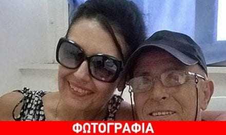 Γιώργος Βασιλείου: Η νέα φωτογραφία από το νοσοκομείο με την Ελένη Φιλίνη