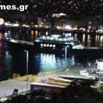 Καβαλιώτικες γωνιές και το λιμάνι την νύχτα