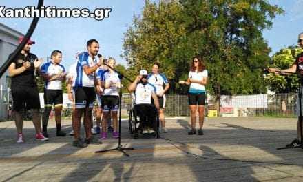 ΒΙΝΤΕΟ:  Wheeling to help στην Ξάνθη