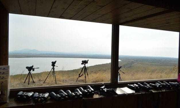 Εγκαίνια παρατηρητηρίου λίμνης Ισμαρίδας
