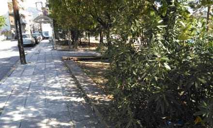 Η κρίση μετέτρεψε το πάρκο σε καφενείο. Να καθαρίζει και κάποιος