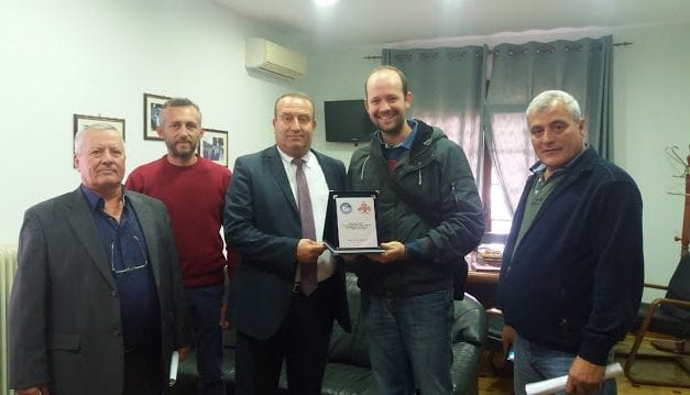 """Το """"Χαμόγελο του παιδιού"""" ευχαριστεί τον δήμο Τοπείρου"""
