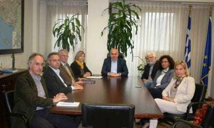 «Επίσκεψη αντιπροσωπείας των Ελληνικών εταιρειών Λιπασμάτων Καβάλας στον Περιφερειάρχη ΑΜΘ»