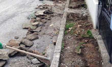 Παρεμβάσεις του Δήμου Ξάνθης στους δρόμους γύρω από το πάρκο Μ. Αλεξάνδρου