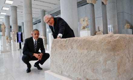 Ο Πρόεδρος Ομπάμα στο Μουσείο της Ακρόπολης: Θα επιστρέψω μετά τη λήξη της θητείας μου