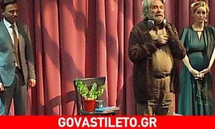 Συγκινεί ο Άγγελος Αντωνόπουλος: «Αφιέρωσε την πρεμιέρα του στον Πέτρο Φυσσούν»
