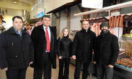 Την Δημοτική αγορά επισκέφτηκε ο Αντιπεριφερειάρχης Ξάνθης Κ. Ζγναφέρης