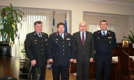 «Επίσκεψη του Γενικού Επιθεωρητή Αστυνομίας Βορείου Ελλάδος στον Περιφερειάρχη ΑΜΘ»