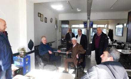Επίσκεψη για Ευχές σε ΕΦ και Παραμεθόρια Χωριά