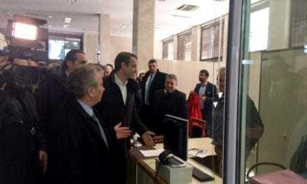 Επίσκεψη του Αρχηγού της Αξιωματικής Αντιπολίτευσης στο Δήμαρχο Ξάνθης