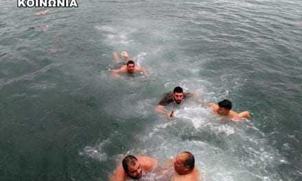 Αγιασμός των υδάτων στο Πόρτο Λάγος Ξάνθης (ΒΙΝΤΕΟ+ΦΩΤΟ)