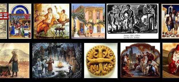Λαϊκά έθιμα του Δωδεκαημέρου, των γιορτών και του Γενάρη