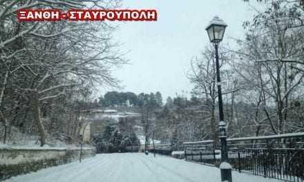 Δεν πάνε σχολείο στην Σταυρούπολη…λόγω χιονιά