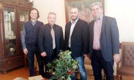 Έρχονται εκλογές. Οι βουλευτές του Σύριζα επισκέφτηκαν τον  «δεξιό» Δήμαρχο Ξάνθης
