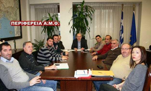 Συσκέψεις του Περιφερειάρχη ΑΜΘ με τους εκπροσώπους εμποροβιοτεχνών και  εργατοϋπαλλήλων για θέματα ανάπτυξης