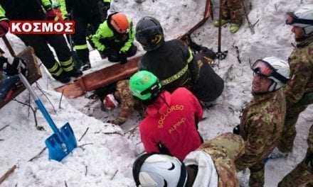 Ιταλία   22χρονη επιβίωσε 58 ώρες εγκλωβισμένη στο ξενοδοχείο τρώγοντας χιόνι