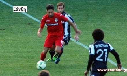 Xanthi FC – Π.Α.Ο.Κ. 1-2