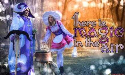 Magic in the air στολές καρναβαλιού από τούς κατασκηνωτές