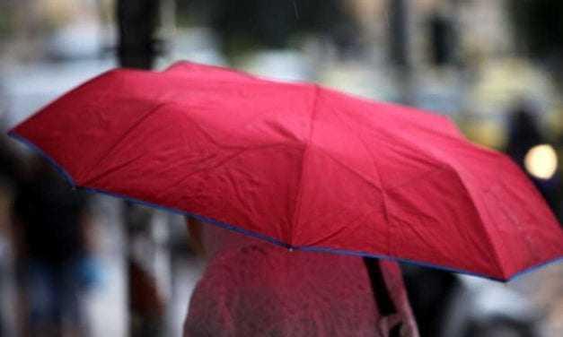 Βροχές και καταιγίδες σε Δυτική και Βόρεια Ελλάδα