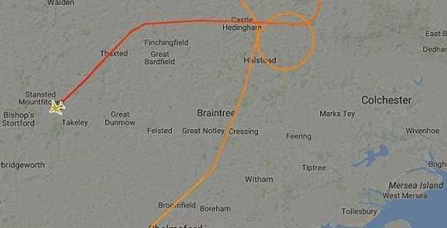 Μαχητικά της RAF σηκώθηκαν για να «αναχαιτίσουν» επιβατικό αεροσκάφος -Το συνόδευσαν στο αεροδρόμιο Στάνστεντ
