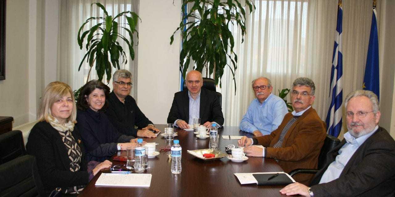 Σύσκεψη του Περιφερειάρχη ΑΜΘ με τους επικεφαλής της αντιπολίτευσης στο Περιφερειακό Συμβούλιο για τον αγωγό TAP