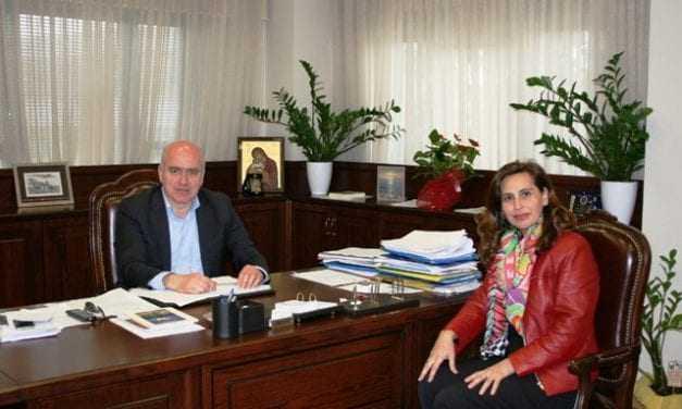 Συνάντηση του Περιφερειάρχη ΑΜΘ με τη βουλευτή Δράμας κ. Χαρά Κεφαλίδου